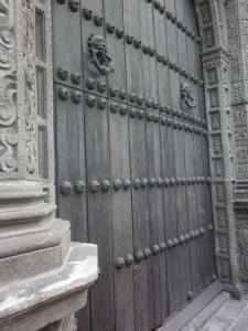 church_door_puebla_mexico_city_streets