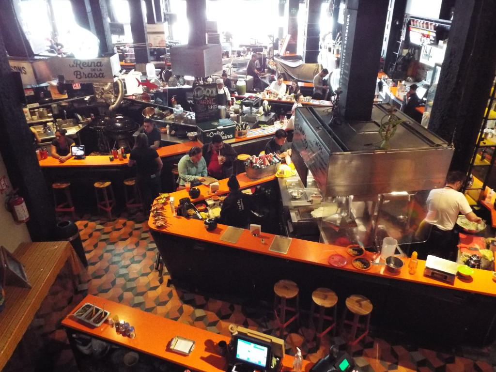 mercado roma food courts