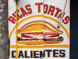 handpainted sign mexico City